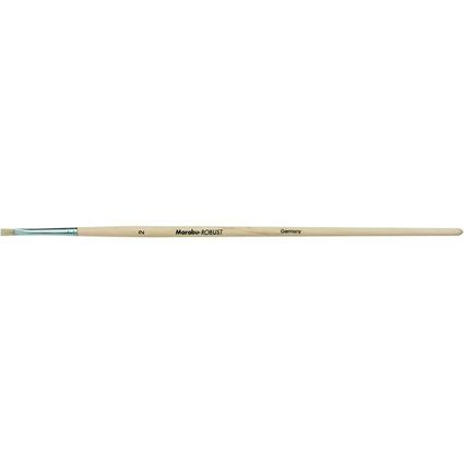 Marabu Borstenpinsel Robust, flach, Gr. 2
