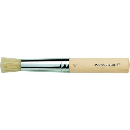 Marabu Stupfpinsel Robust, rund, Gr. 10