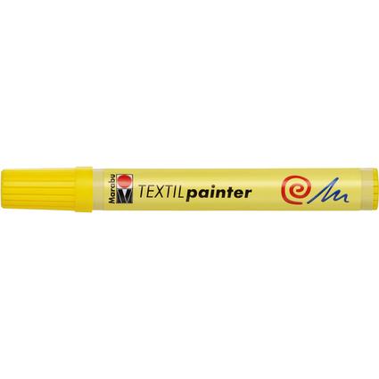 """Marabu Textilmarker """"Textil Painter"""", gelb"""