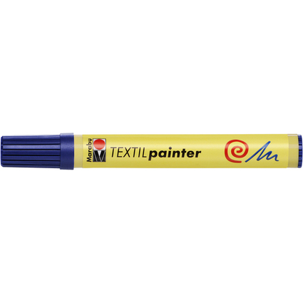 "Marabu Textilmarker ""Textil Painter"", dunkelblau"