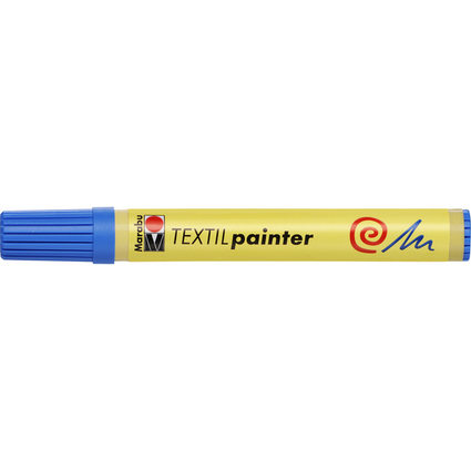 """Marabu Textilmarker """"Textil Painter"""", azurblau"""