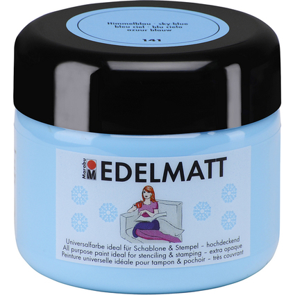 Marabu Acrylfarbe EDELMATT Colour your dreams, himmelblau