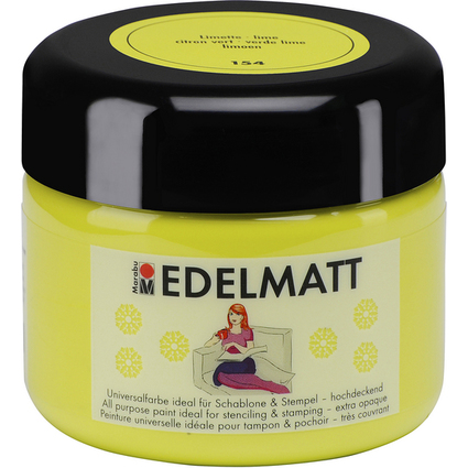 Marabu Acrylfarbe EDELMATT Colour your dreams, limette