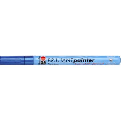 "Marabu Lackmarker ""Brilliant Painter"", metallic-blau"
