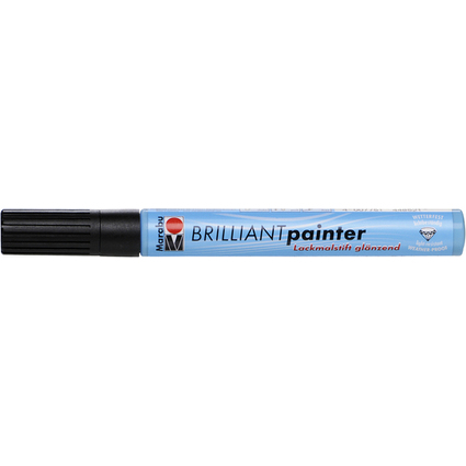 "Marabu Lackmarker ""Brilliant Painter"", schwarz"