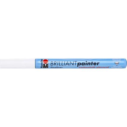 "Marabu Lackmarker ""Brilliant Painter"", weiß"
