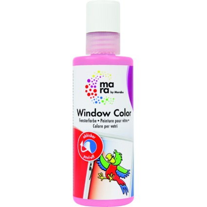 mara by Marabu Window Color, 80 ml, rosa
