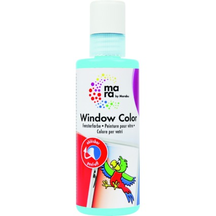mara by Marabu Window Color, 80 ml, himmelblau