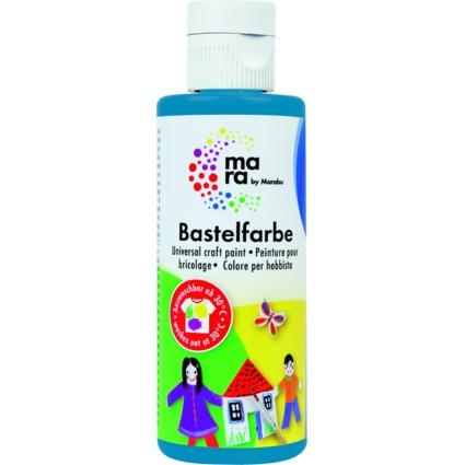 mara by Marabu Bastelfarbe, 80 ml, azurblau