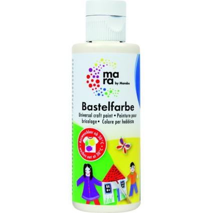mara by Marabu Bastelfarbe, 80 ml, weiß