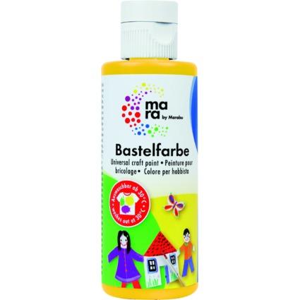 mara by Marabu Bastelfarbe, 80 ml, gelb