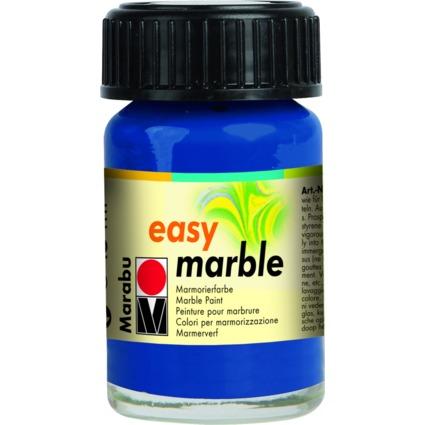 "Marabu Marmorierfarbe ""Easy Marble"", ultramarinblau, 15 ml"