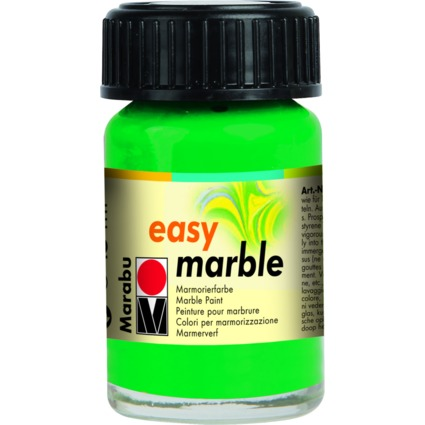 "Marabu Marmorierfarbe ""Easy Marble"", saftgrün, 15 ml, Glas"