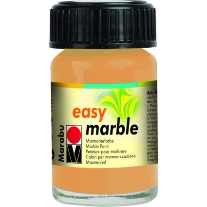 "Marabu Marmorierfarbe ""Easy Marble"", gold, 15 ml, im Glas"