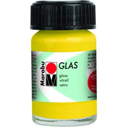 """Marabu Glasfarbe """"Glas"""", sonnengelb, 15 ml"""