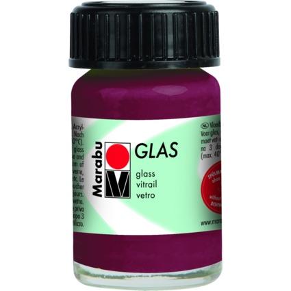 """Marabu Glasfarbe """"Glas"""", brombeere, 15 ml"""