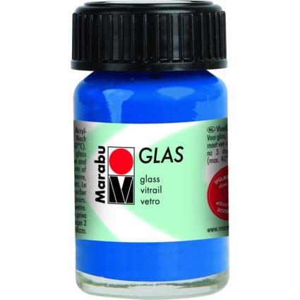 """Marabu Glasfarbe """"Glas"""", ultramarinblau, 15 ml"""