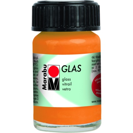 "Marabu Glasfarbe ""Glas"", orange, 15 ml"