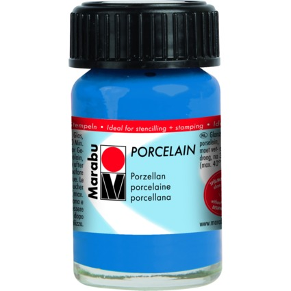 "Marabu Porzellanfarbe ""Porcelain"", enzian, 15 ml"