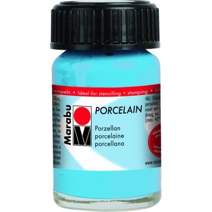 """Marabu Porzellanfarbe """"Porcelain"""", hellblau, 15 ml"""