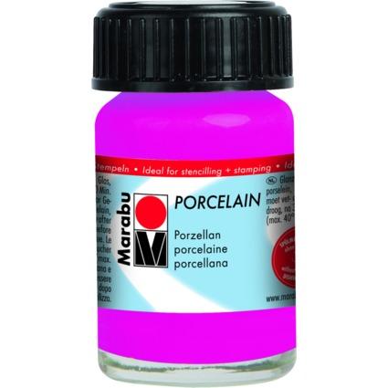 "Marabu Porzellanfarbe ""Porcelain"", himbeere, 15 ml"