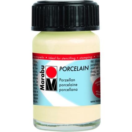 "Marabu Porzellanfarbe ""Porcelain"", elfenbein, 15 ml"