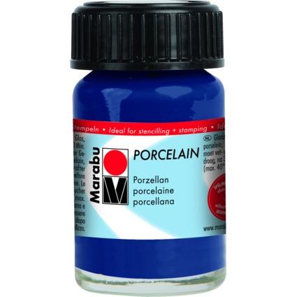 "Marabu Porzellanfarbe ""Porcelain"", nachtblau, 15 ml"