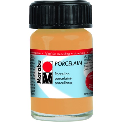 "Marabu Porzellanfarbe ""Porcelain"", metallic-gold, 15 ml"