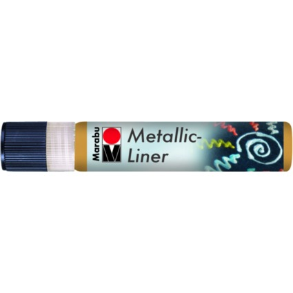 "Marabu Metallicfarbe ""Metallic-Liner"", metallic-gold, 25 ml"