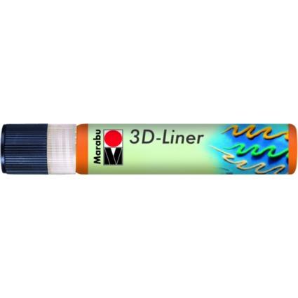 "Marabu Relieffarbe ""3D-Liner"", 3D-orange, 25 ml"