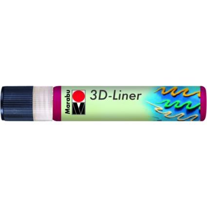 """Marabu Relieffarbe """"3D-Liner"""", 3D-rubinrot, 25 ml"""