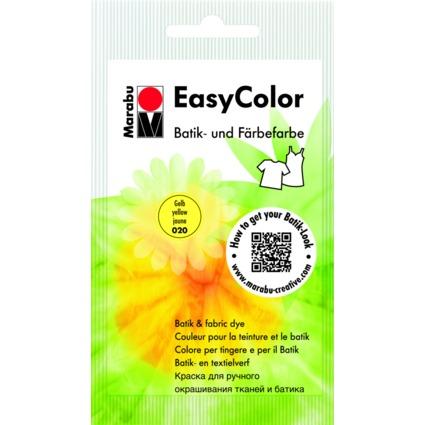 "Marabu Batik- und Färbefarbe ""EasyColor"", 25 g, gelb"