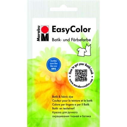 """Marabu Batik- und Färbefarbe """"EasyColor"""", 25 g, azurblau"""