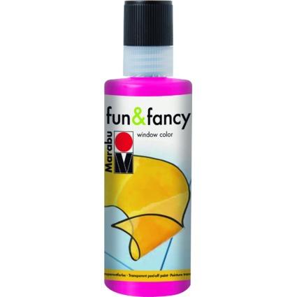 "Marabu Window Color ""fun & fancy"", 80 ml, himbeere"