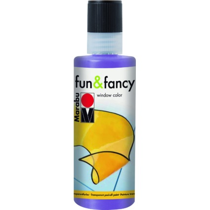 "Marabu Window Color ""fun & fancy"", 80 ml, lavendel"