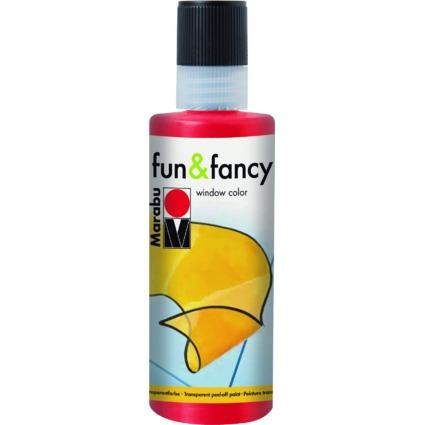 "Marabu Window Color ""fun & fancy"", 80 ml, kirschrot"