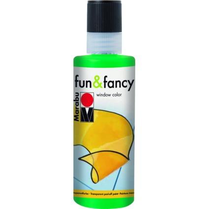 "Marabu Window Color ""fun & fancy"", 80 ml, saftgrün"