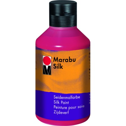 "Marabu Seidenmalfarbe ""Silk"", karminrot, 250 ml, Flasche"