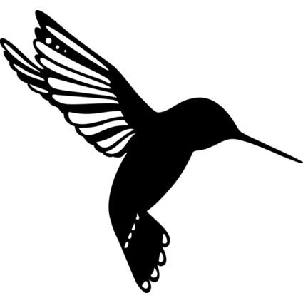 """Marabu Silhouetten-Motivschablone """"Little Birdie"""""""