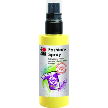 "Marabu Textilsprühfarbe ""Fashion-Spray"", zitron, 100 ml"