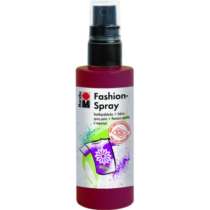 "Marabu Textilsprühfarbe ""Fashion-Spray"", bordeaux, 100 ml"