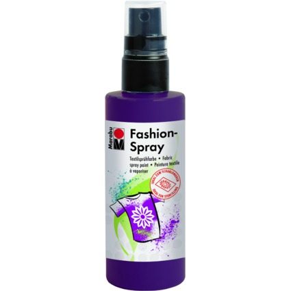 "Marabu Textilsprühfarbe ""Fashion-Spray"", aubergine, 100 ml"