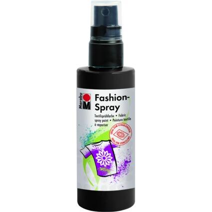 "Marabu Textilsprühfarbe ""Fashion-Spray"", schwarz, 100 ml"