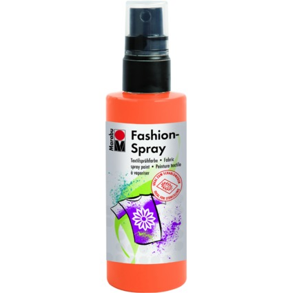 "Marabu Textilsprühfarbe ""Fashion-Spray"", mandarine, 100 ml"
