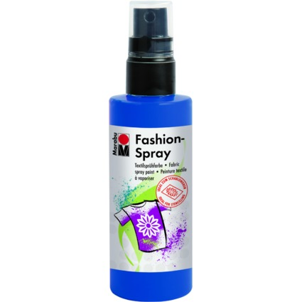"Marabu Textilsprühfarbe ""Fashion-Spray"", marineblau, 100 ml"
