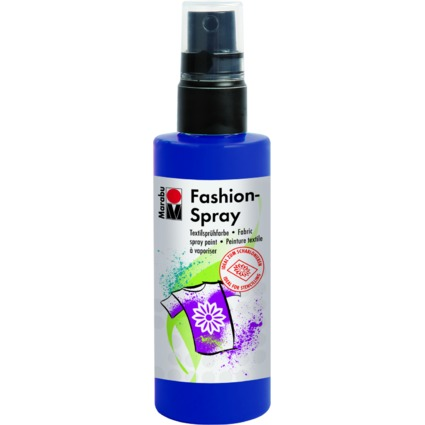 "Marabu Textilsprühfarbe ""Fashion-Spray"", nachtblau, 100 ml"