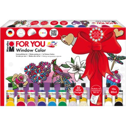 """Marabu Window Color """"fun & fancy"""", Set FOR YOU"""