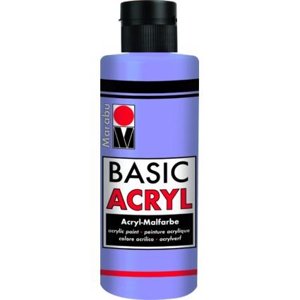 "Marabu Acrylfarbe ""BasicAcryl"", lavendel, 80 ml"