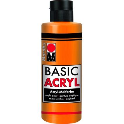 "Marabu Acrylfarbe ""BasicAcryl"", orange, 80 ml"