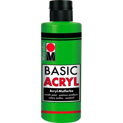"Marabu Acrylfarbe ""BasicAcryl"", saftgrün, 80 ml"
